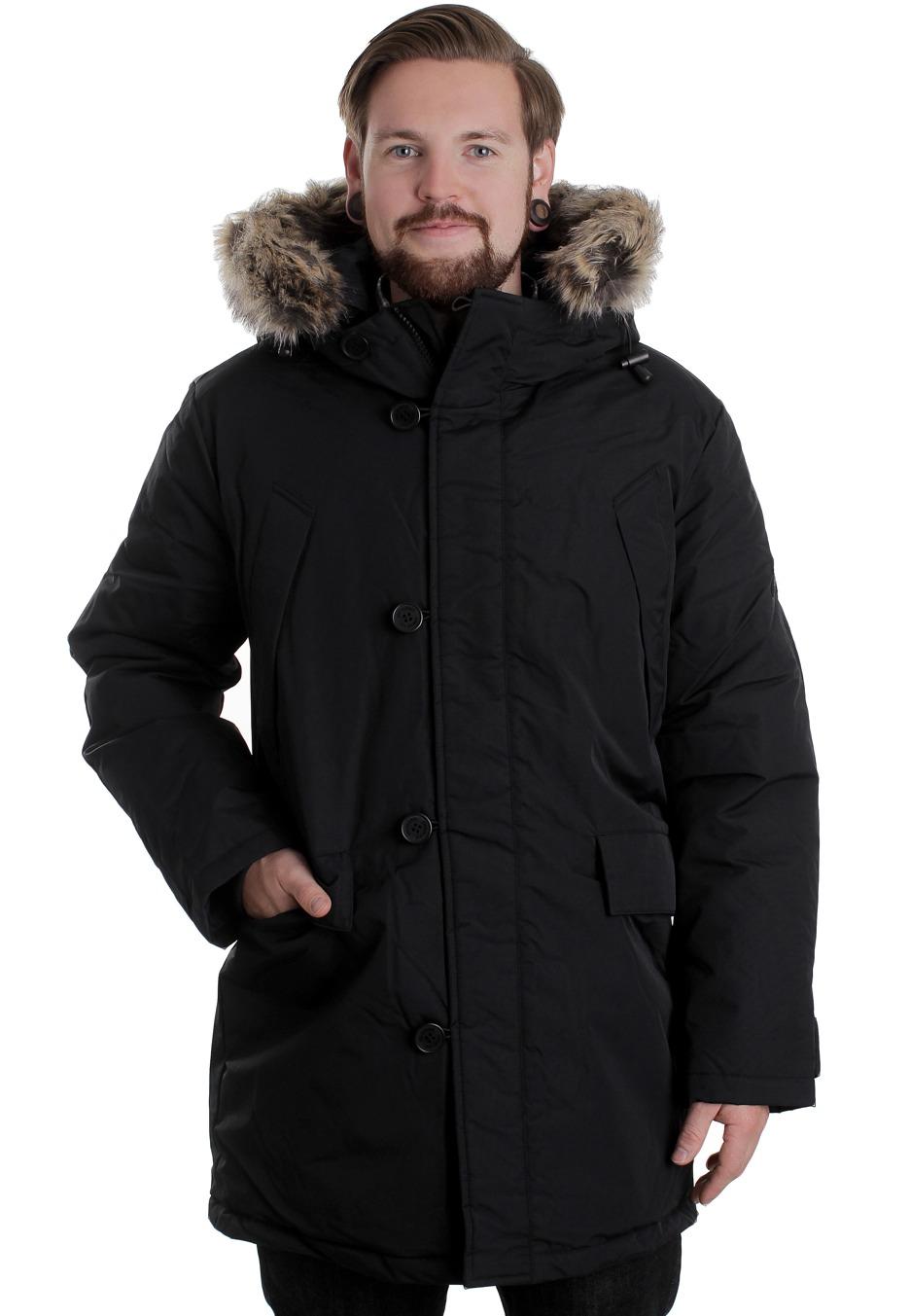 ben sherman mf00141 heavy jacket streetwear shop worldwide. Black Bedroom Furniture Sets. Home Design Ideas
