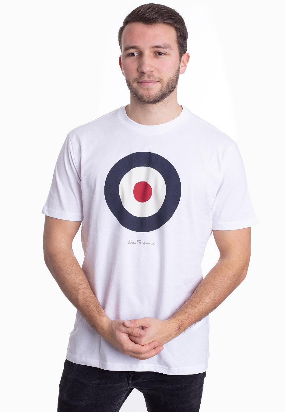 Ben Sherman   Signature Target White   T Shirt   Impericon.com AT