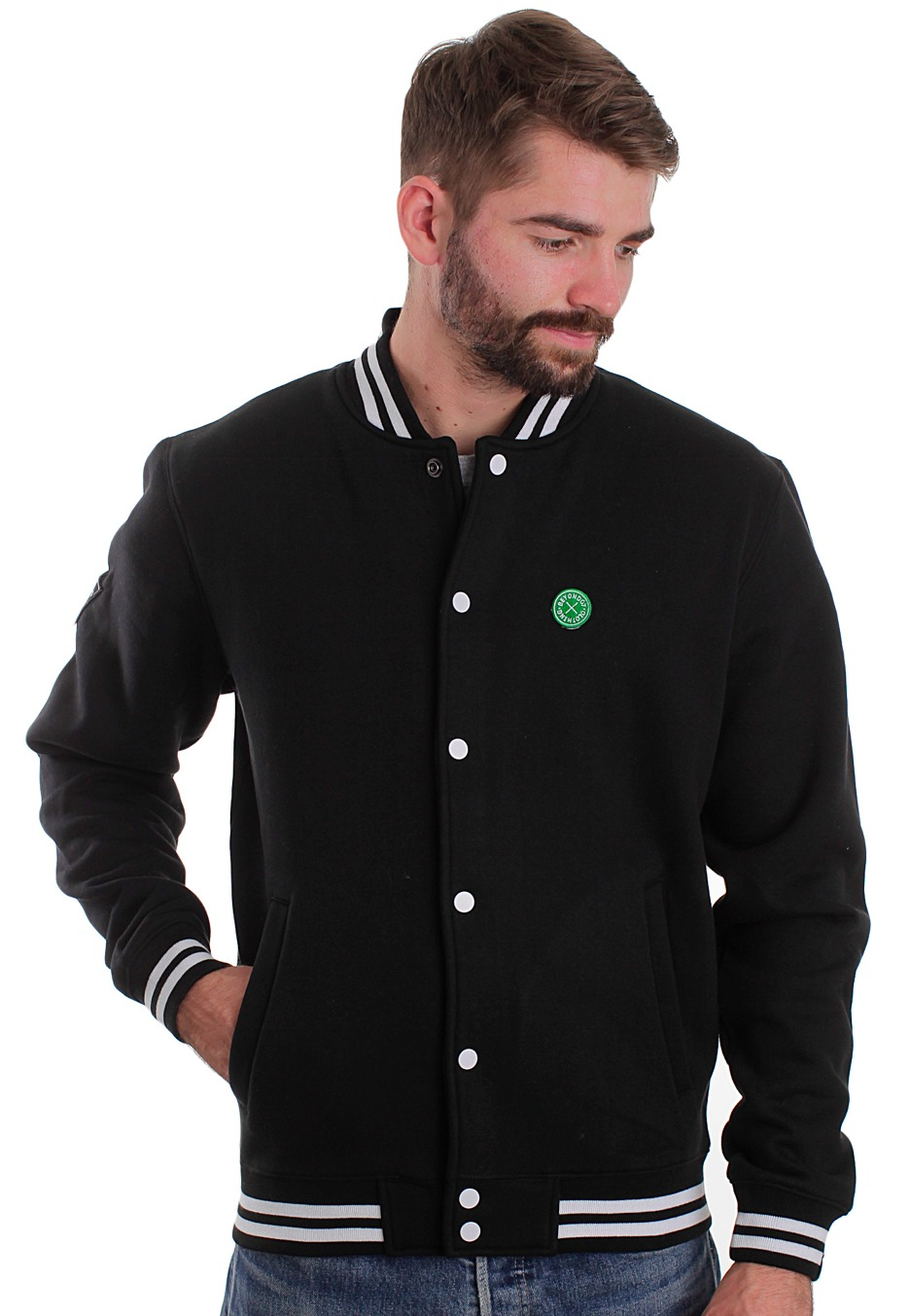 Beyond - Varsity II Black/Black - College Jacket - Impericon.com ...
