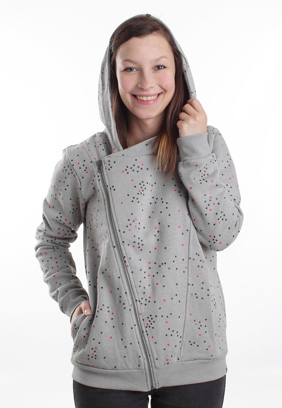 Billabong - Marc Grey Heather - Girl Zipper - Streetwear Shop ... 78075e4f9