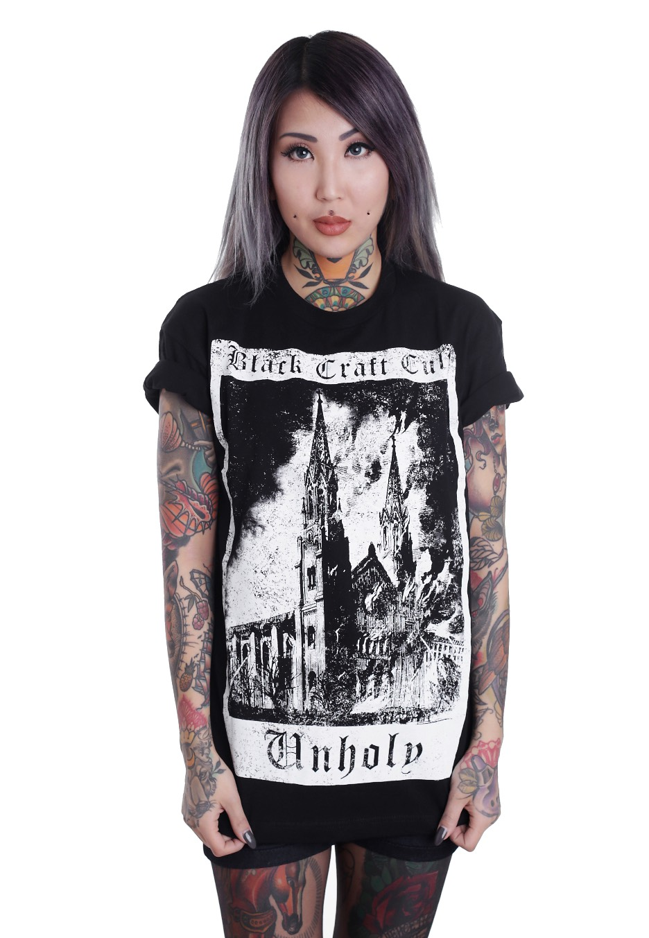 Black Craft Cult - Unholy Tarot - T-Shirt - Streetwear Shop - Impericoncom Worldwide-8385