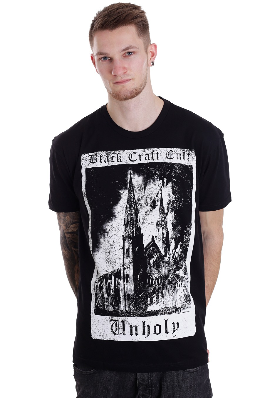 Streetwear Craft Tarot Cult Shirt Unholy T Shop Black TFKcu351lJ
