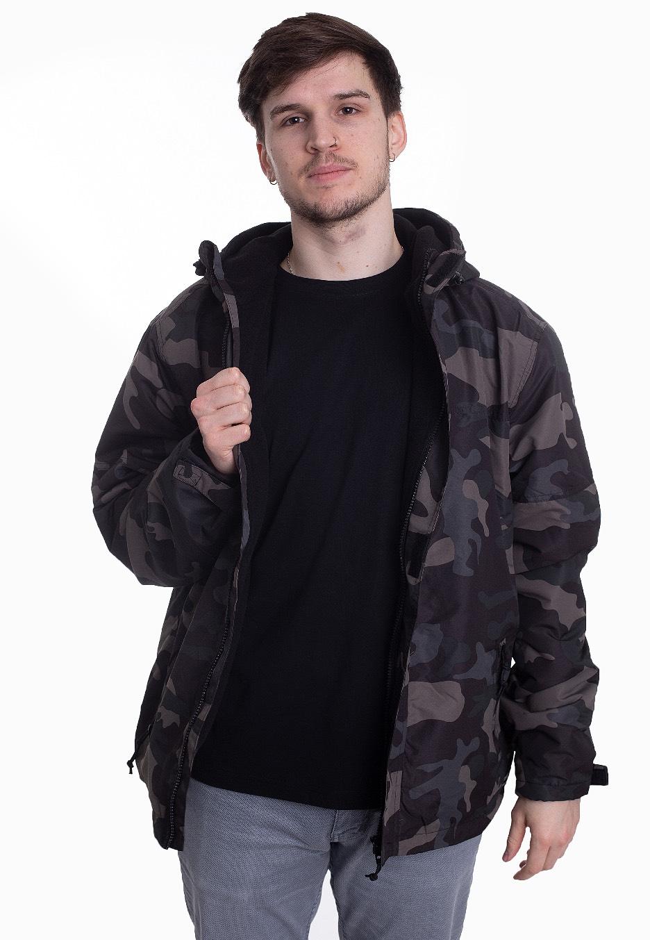 Brandit Men Windbreaker Frontzip