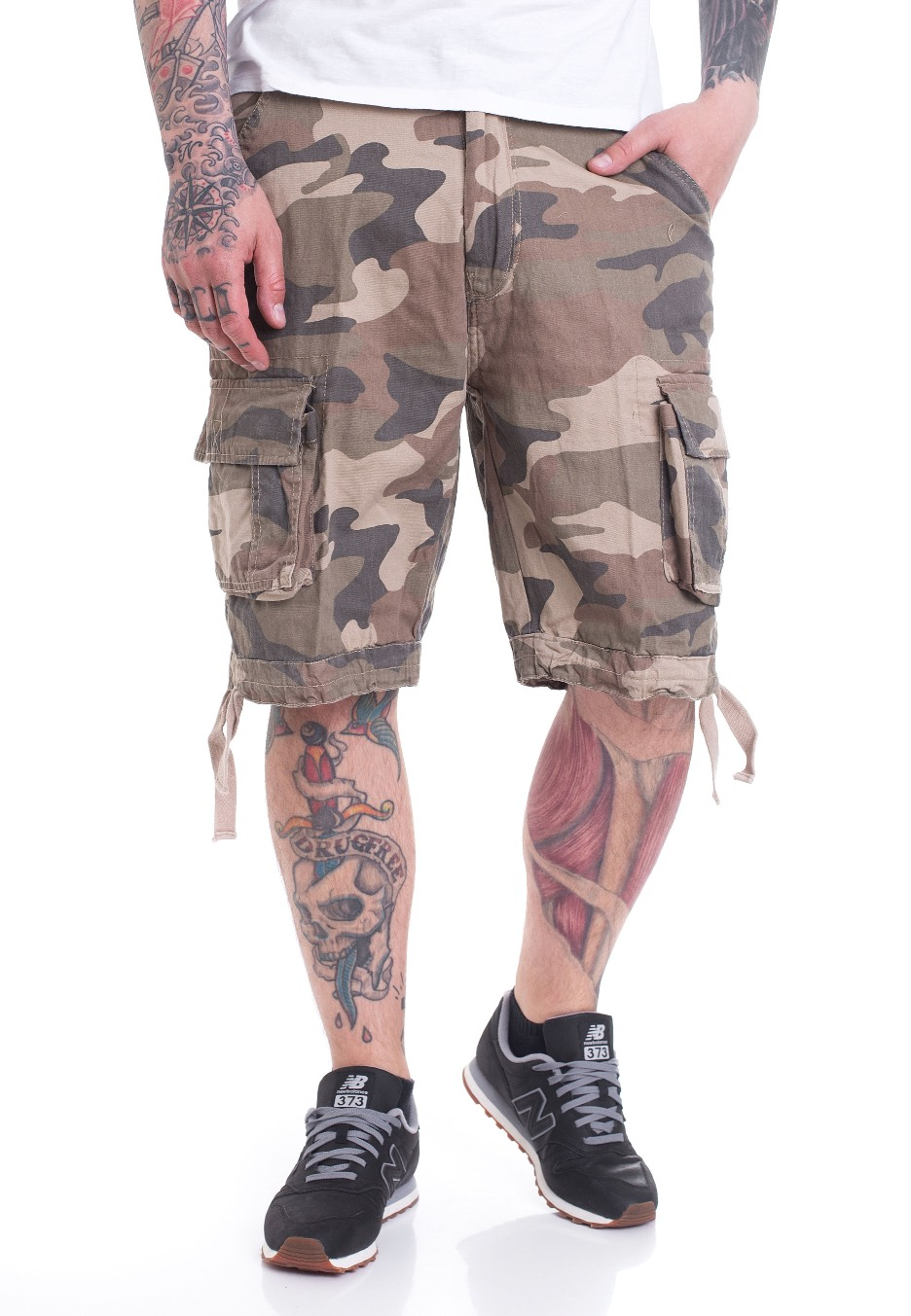 Brandit Urban Legend Light Woodland Shorts