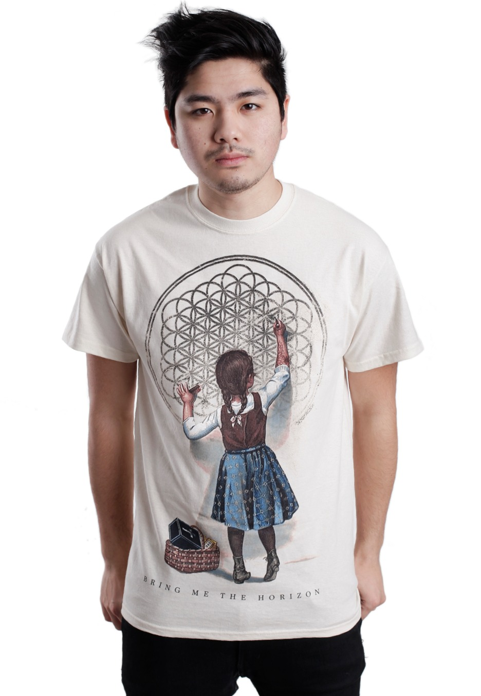 718c72dd0 Bring Me The Horizon - Sempiternal Girl Natural - T-Shirt - Impericon.com  Worldwide