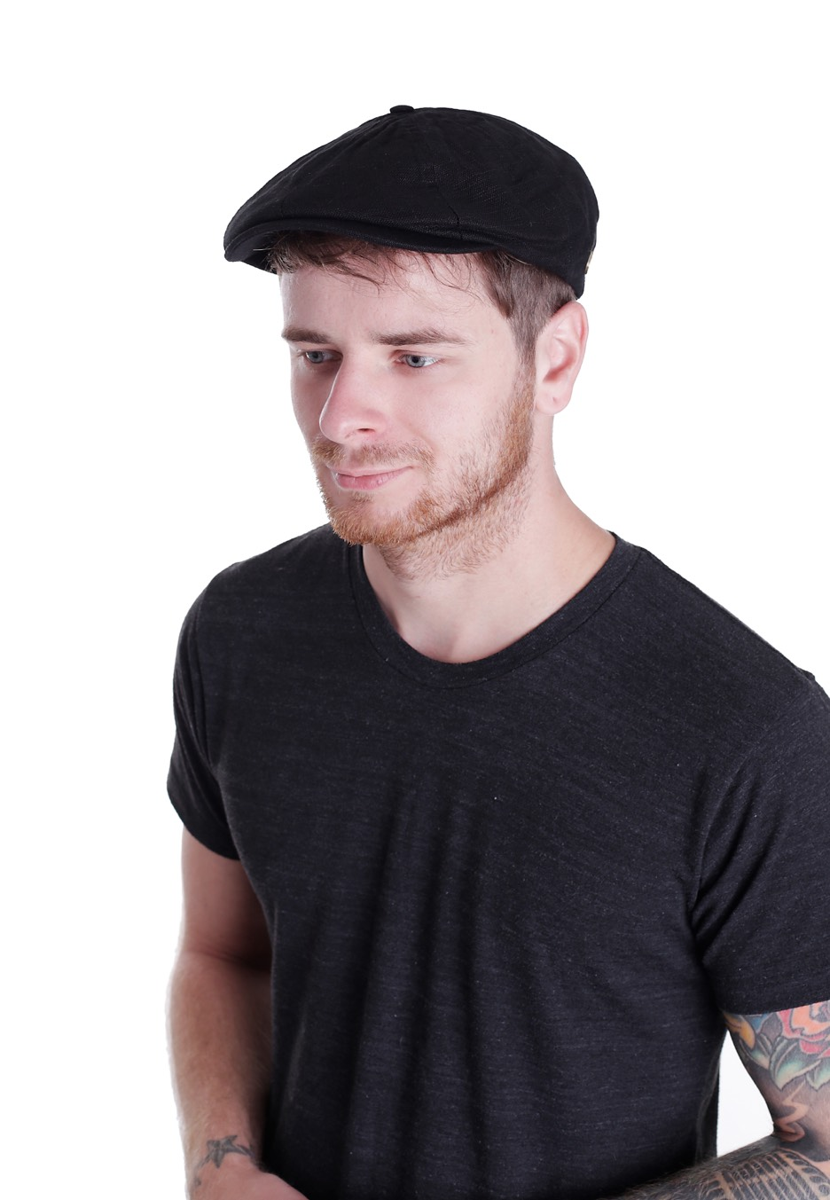 bbe65785 ... best price brixton brood washed black snap hat e472d 01f00