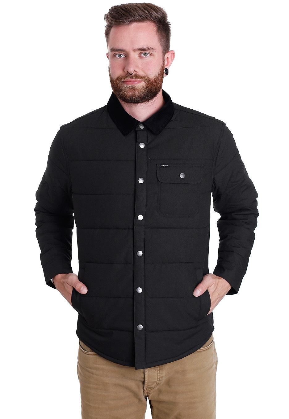 Brixton - Cass Black Black - Jacket - Streetwear Shop - Impericon.com UK 3457e0fa01d