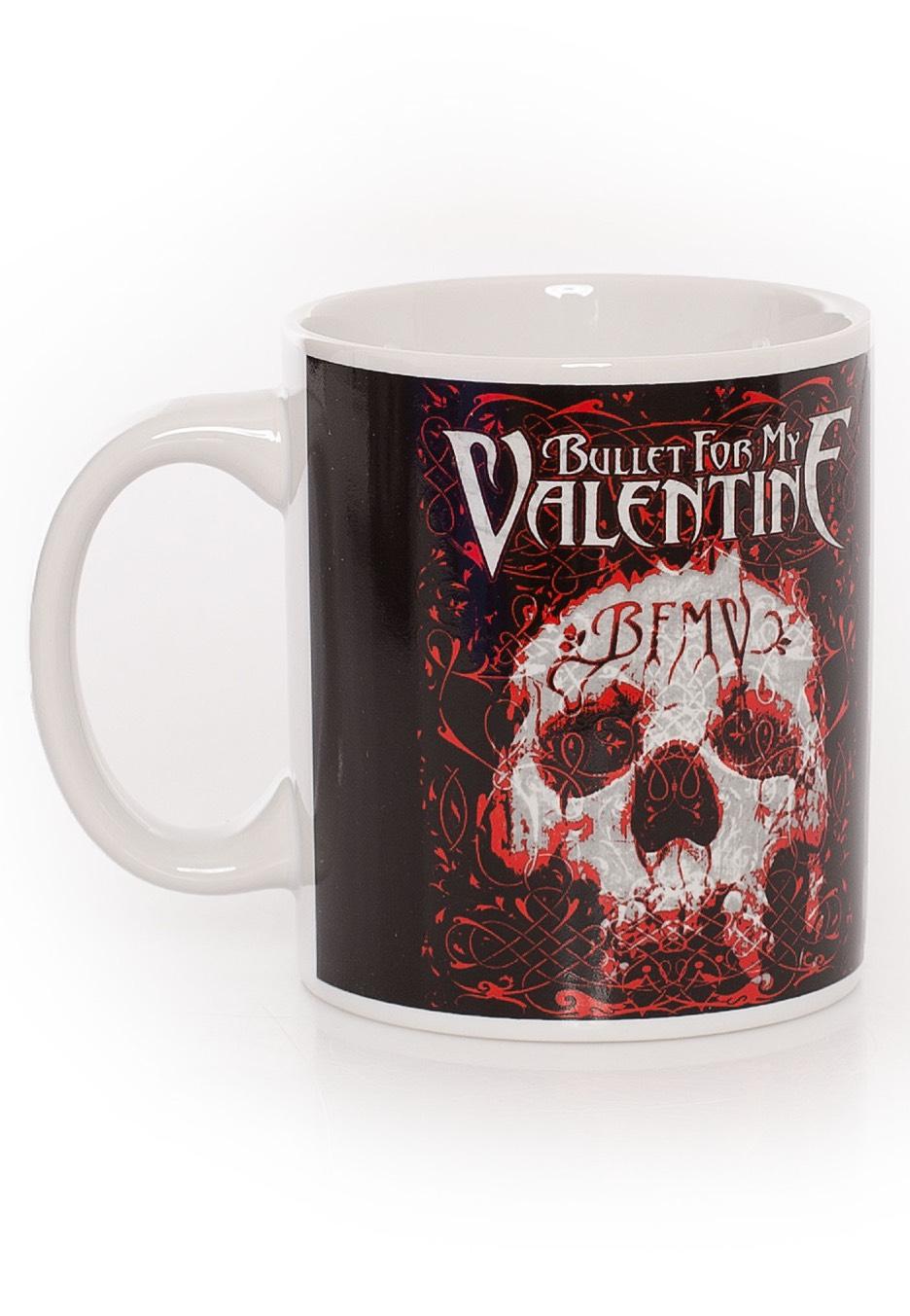 Bullet For My Valentine Bfmv Skull Mug Impericon Com Us