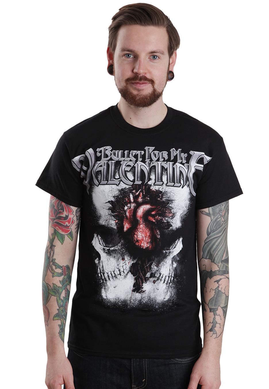 Bullet For My Valentine Skulls T Shirt Impericon Com Worldwide