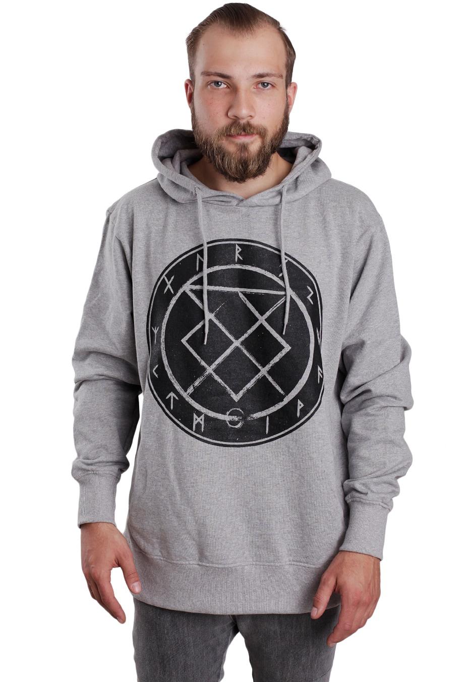 bury tomorrow rune crest sportsgrey hoodie uk. Black Bedroom Furniture Sets. Home Design Ideas