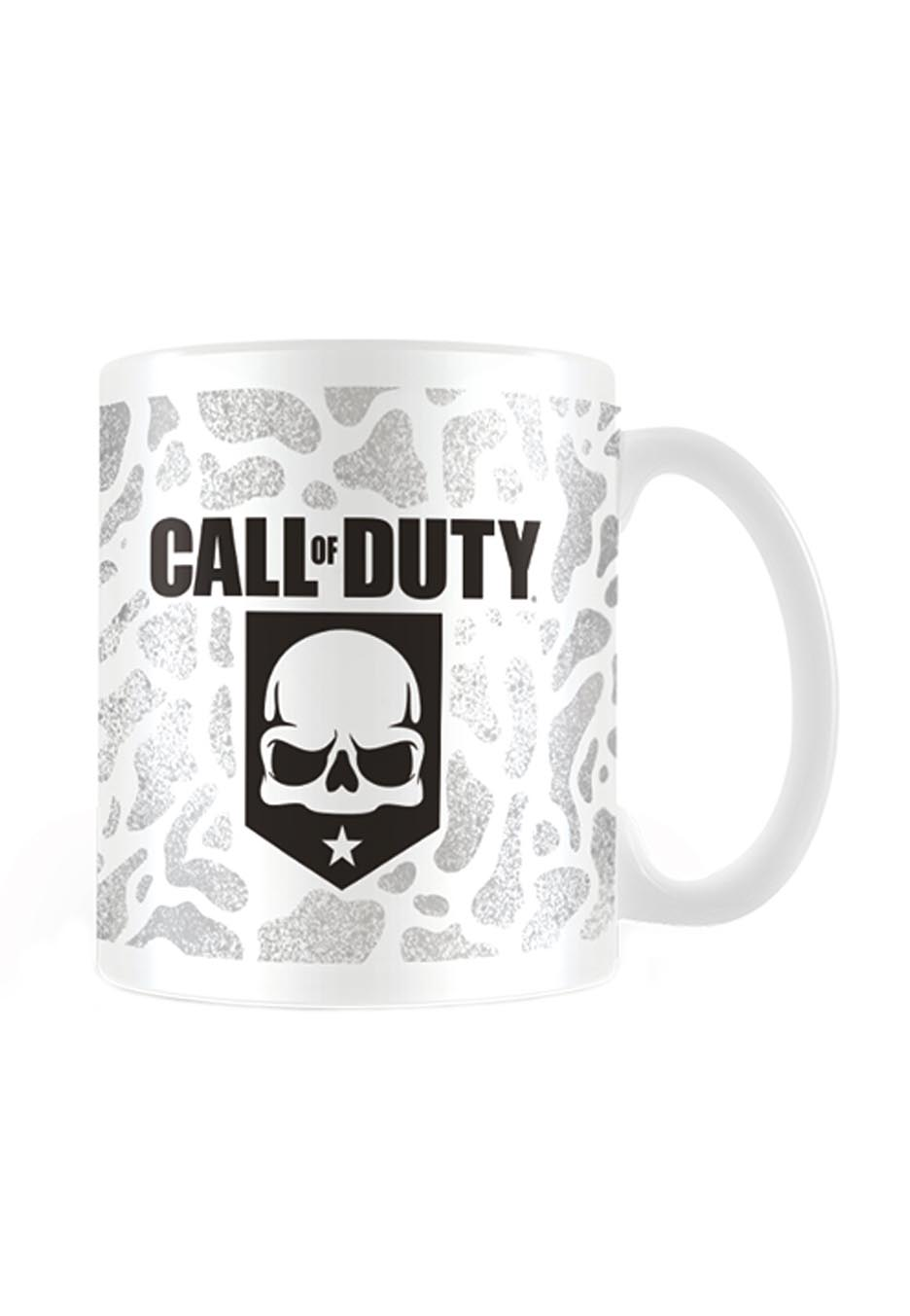 Call Of Duty Logo White Mug Impericon Com Worldwide