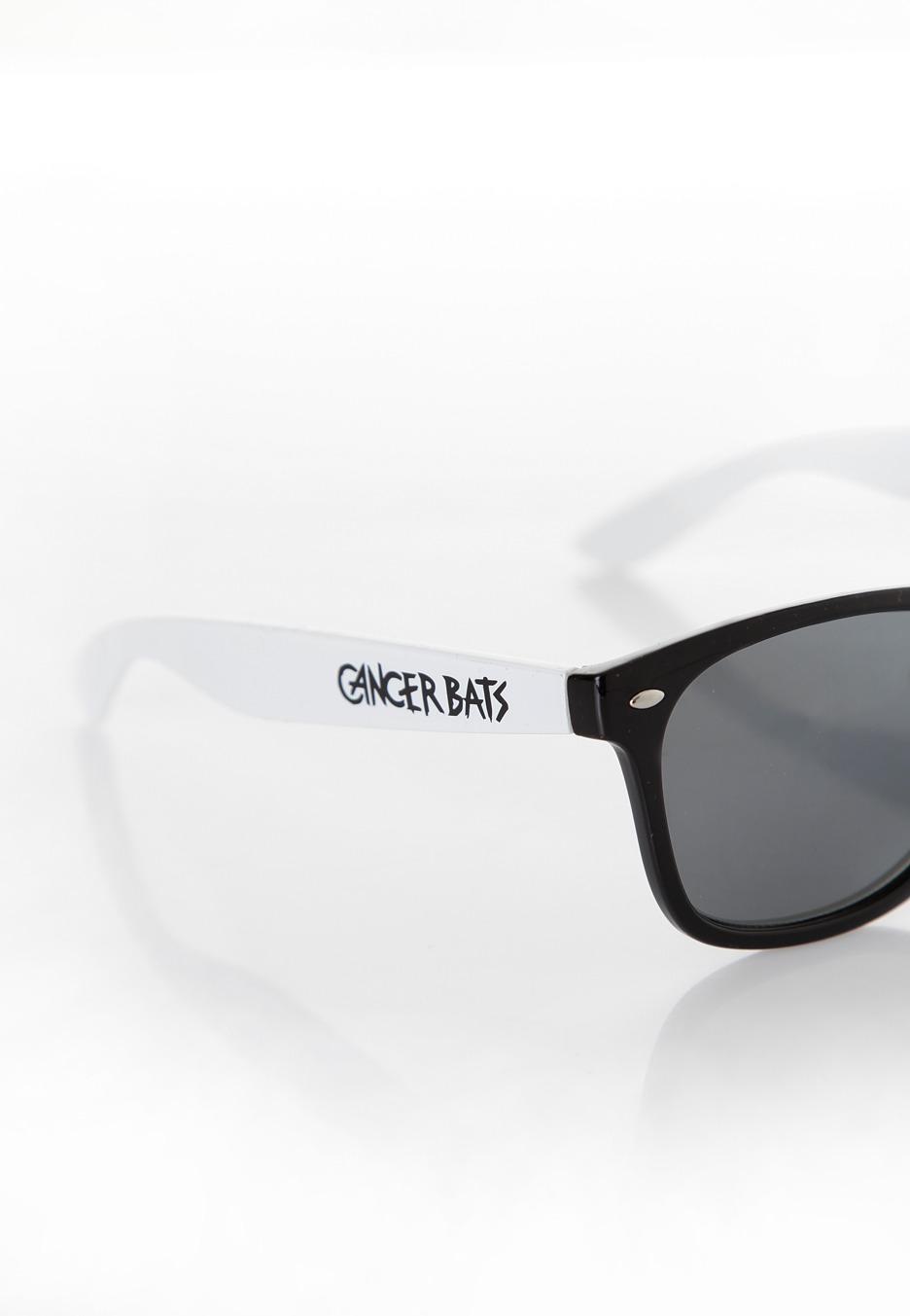 Sunglasses Logo Black And White Cancer Bats - L...