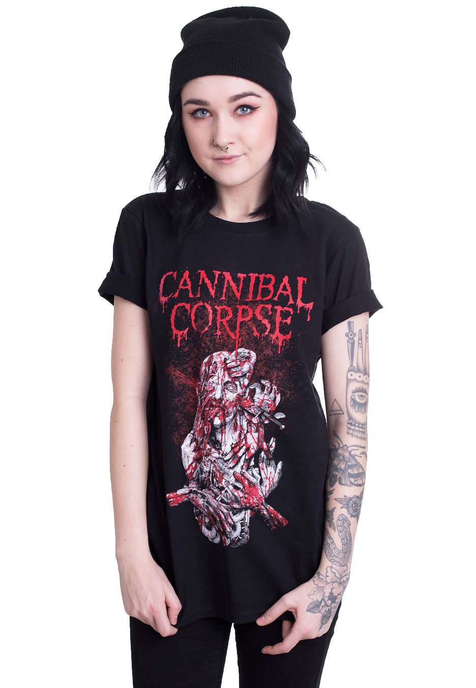 Cannibal Corpse - Stabhead 1 - T-Shirt - Official Metal Merchandise Shop -  Impericon.com US 8269616316c