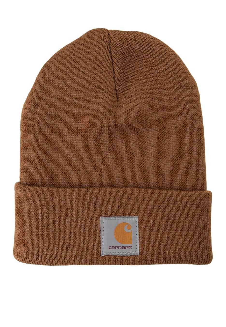 33702754373690 Carhartt WIP - Acrylic Watch Carhartt Brown - Beanie - Streetwear Shop -  Impericon.com UK