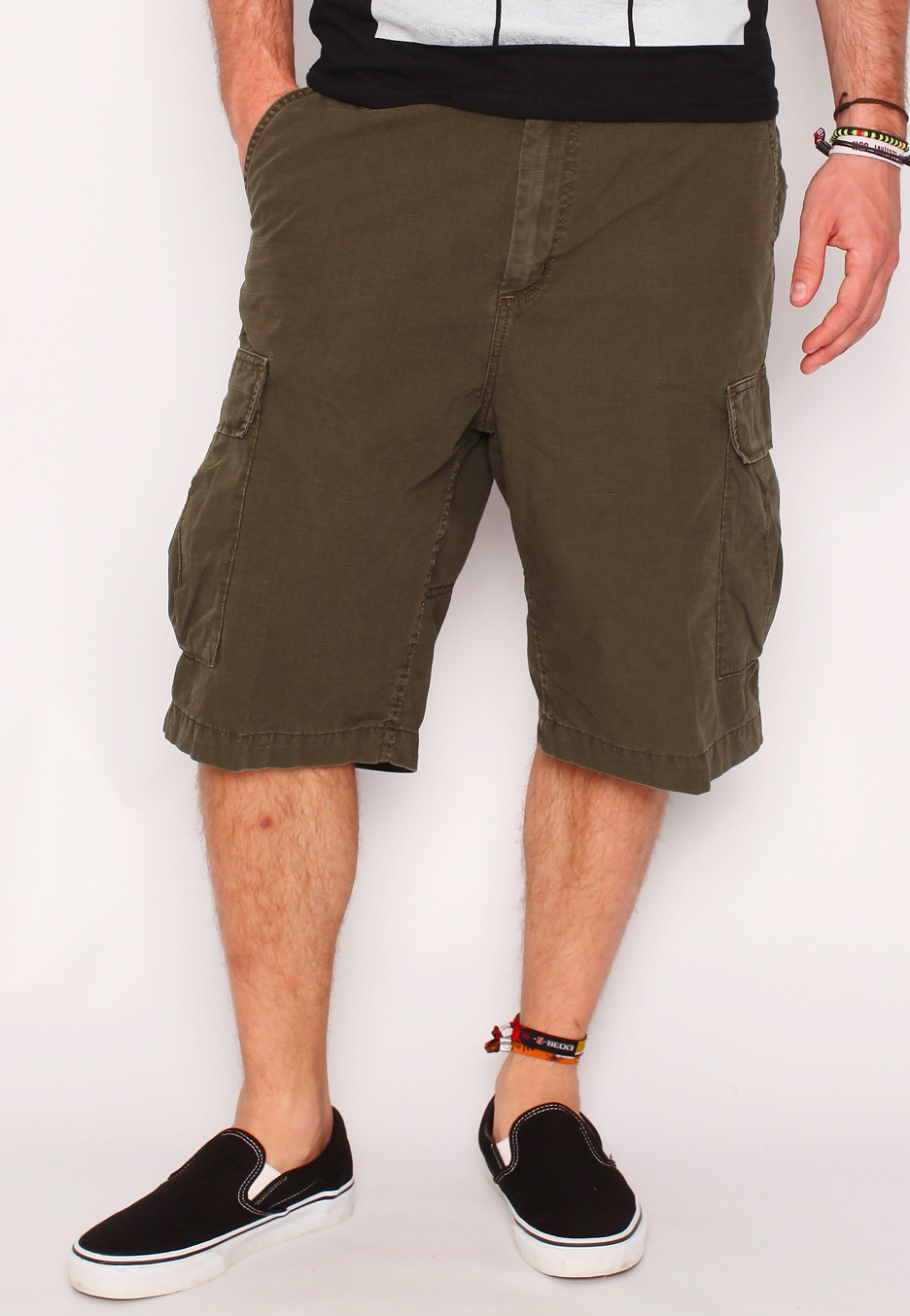 carhartt wip cargo bermuda ripstop cypress stone washed shorts streetwear shop impericon. Black Bedroom Furniture Sets. Home Design Ideas