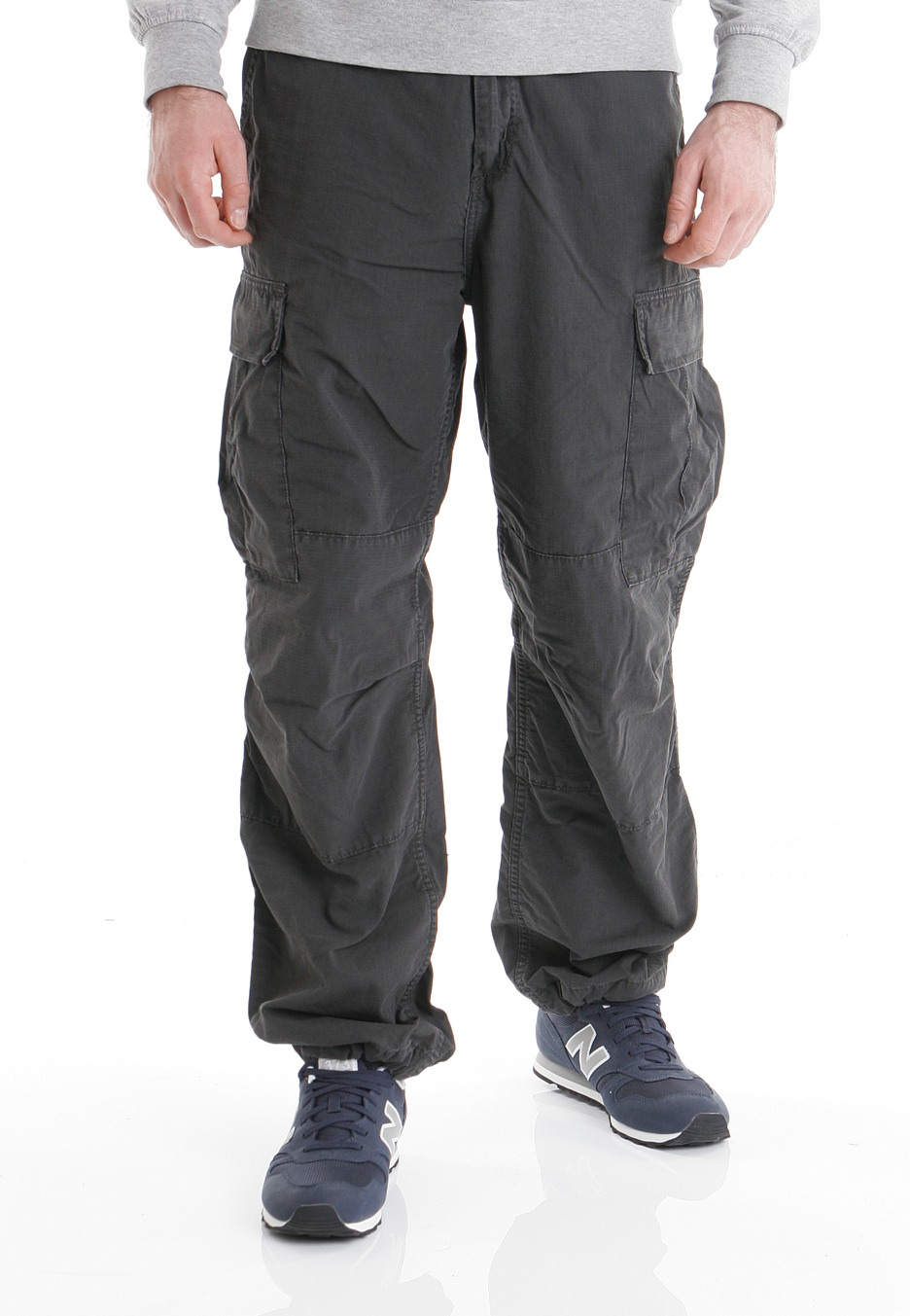 Carhartt WIP - Cargo Columbia Asphalt Stone Washed - Pants - Streetwear  Shop - Impericon.com Worldwide 111b3a8c5