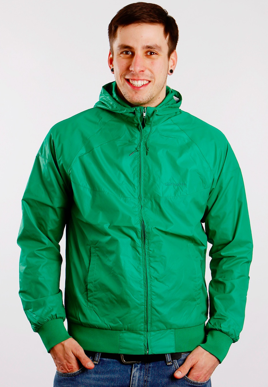 Carhartt WIP - Grizz Green - Jacket - Streetwear Shop - Impericon ...