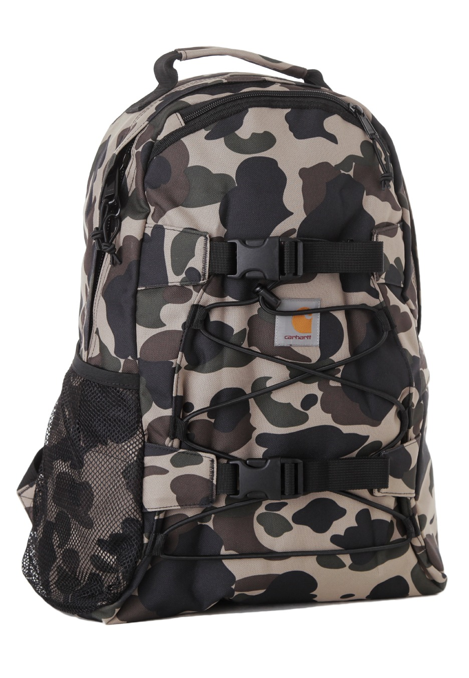 carhartt wip kickflip camo duck sac a dos boutique streetwear fr. Black Bedroom Furniture Sets. Home Design Ideas