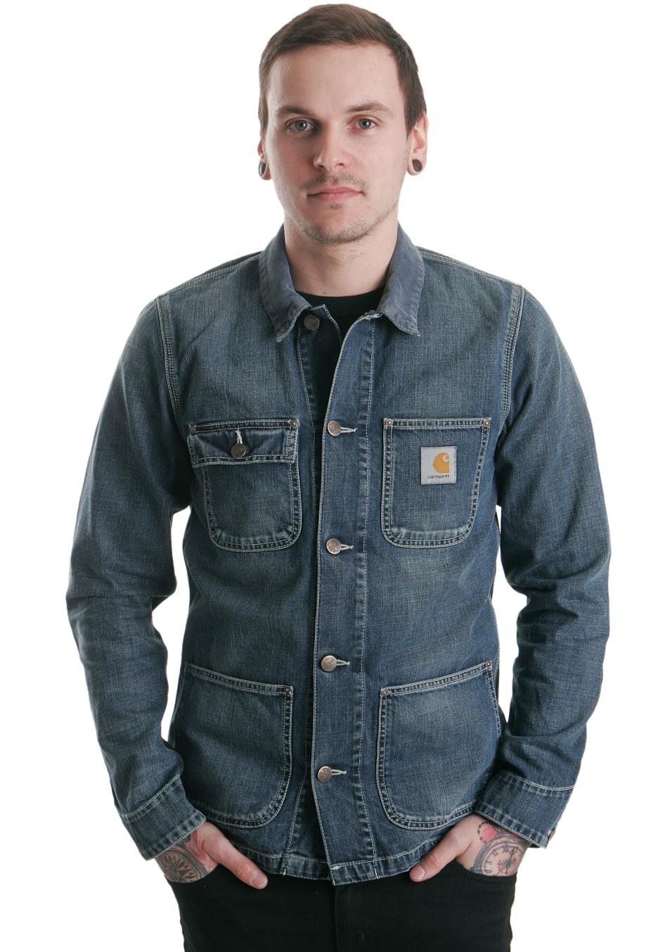 Jeansjacka man