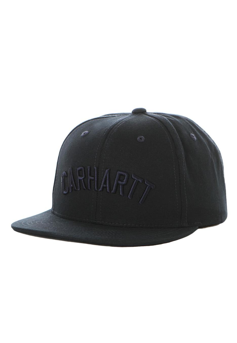 78b0312e0aa69 Carhartt WIP - On Track Navy Starter Snapback - Cap - Streetwear ...