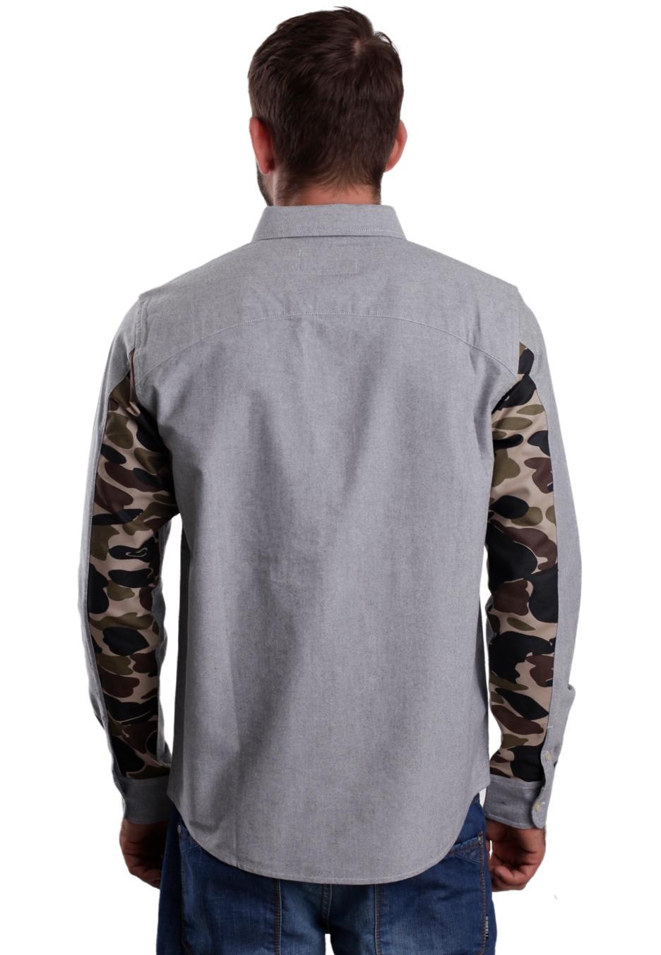 ... Carhartt WIP - Raymond Black/Camo Isle Rigid - Shirt