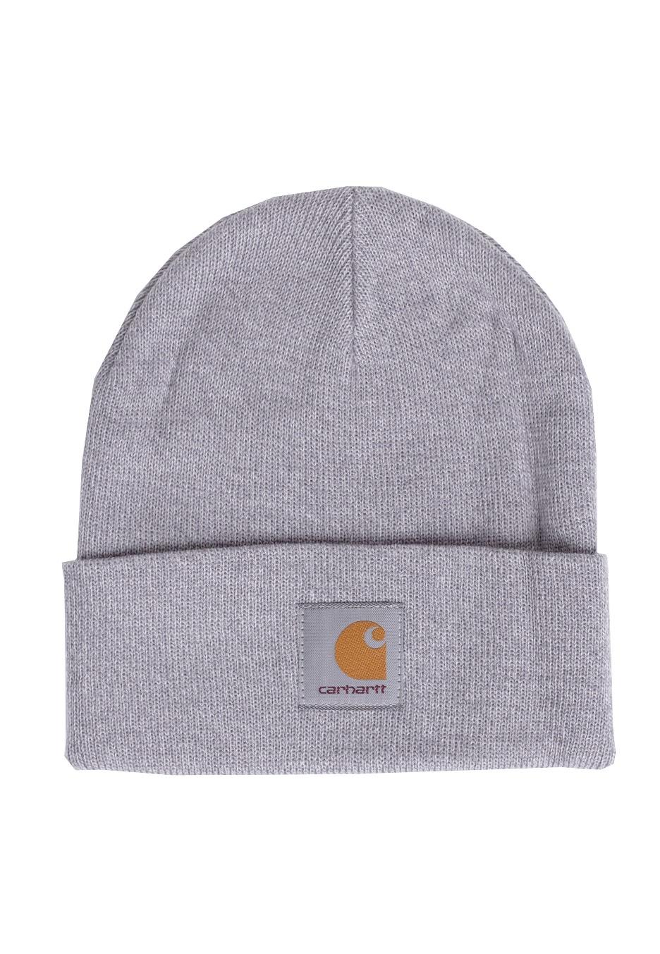 Carhartt WIP - Short Watch Grey Heather - Beanie - Streetwear Shop -  Impericon.com UK 90858410893
