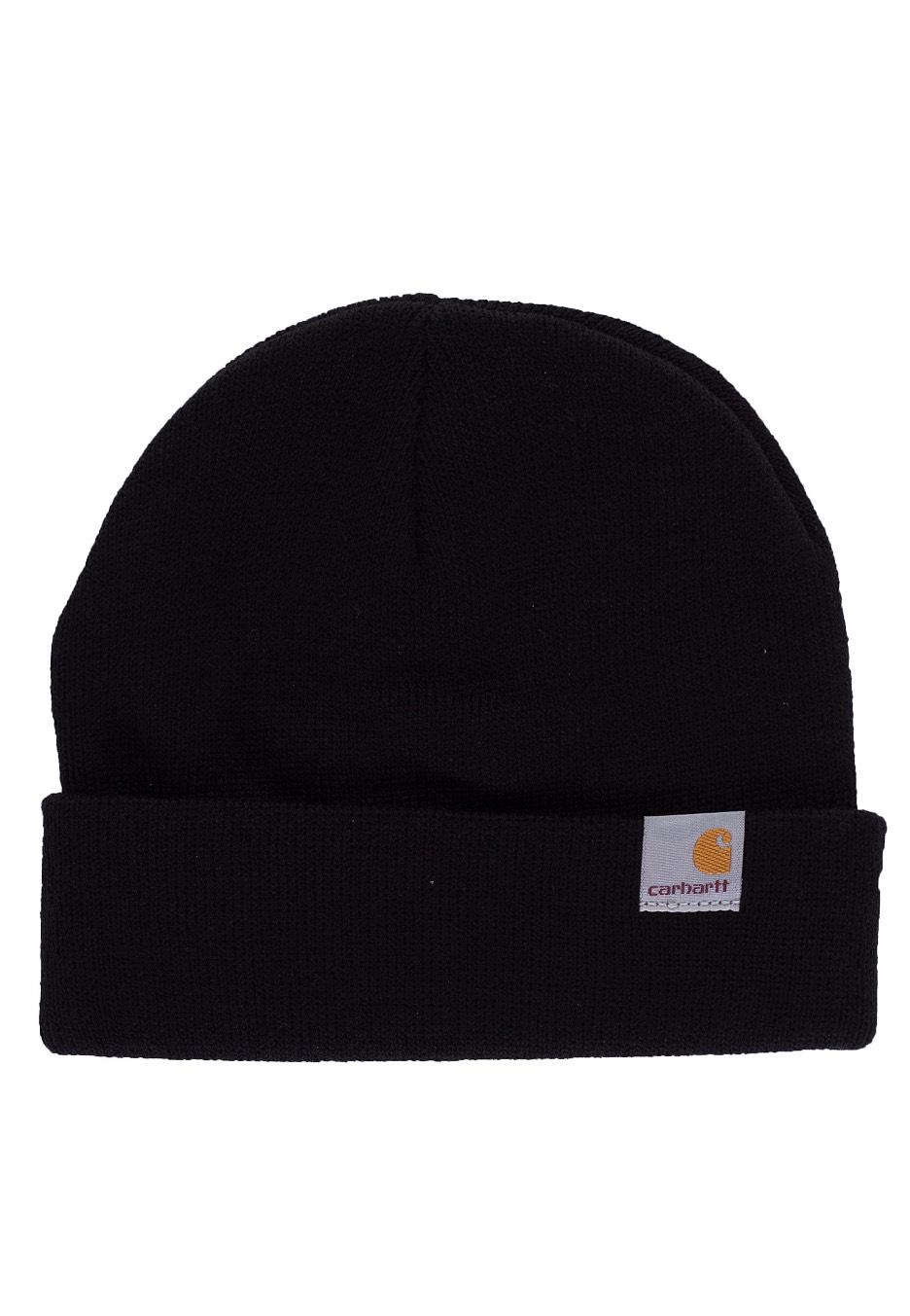 Carhartt WIP - Stratus Hat Low Black - Beanie - Streetwear Shop -  Impericon.com UK f870a0e1868