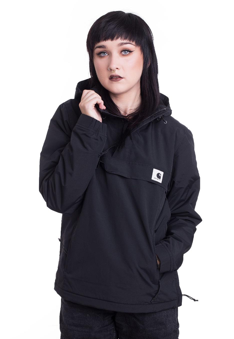 Jacken - Carhartt WIP W' Nimbus Pullover Black Winter Jacken  - Onlineshop IMPERICON