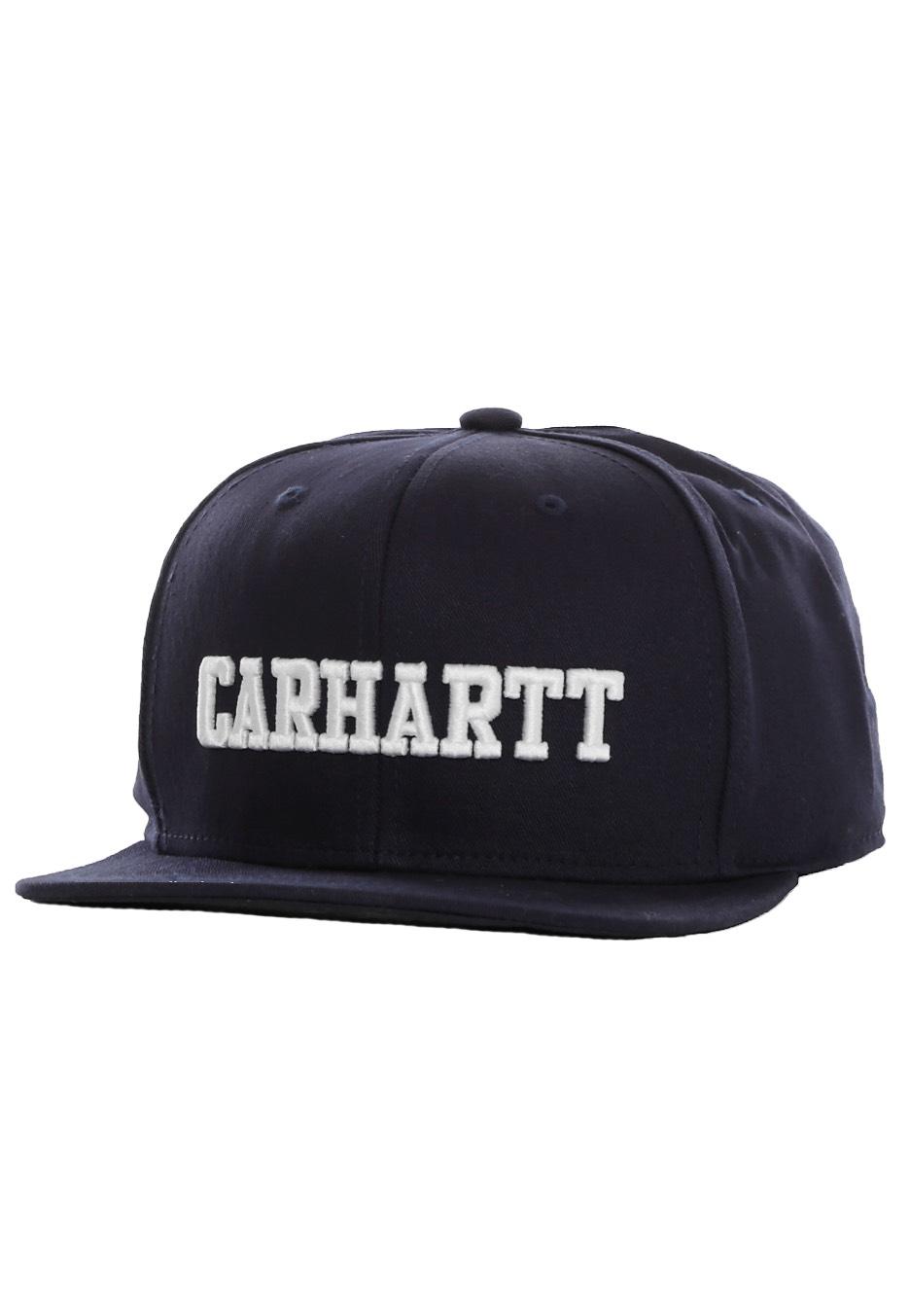 575d66ee1d3 Carhartt WIP - Walker Starter Twill Navy White - Cap - Streetwear Shop -  Impericon.com US