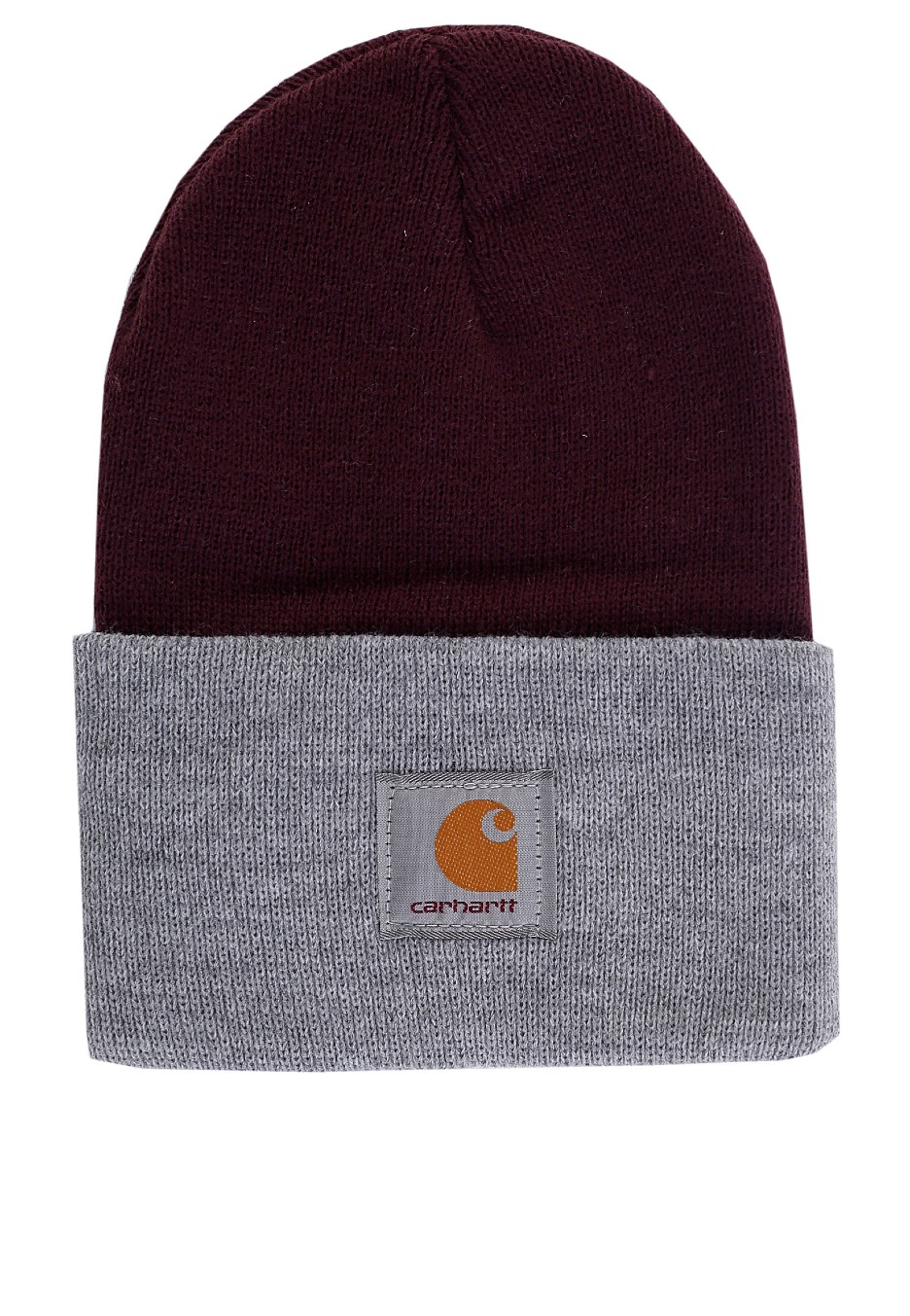 b606e62e598 Carhartt WIP - Bi-Colored Acrylic Watch Burnt Umber Heather Grey - Beanie