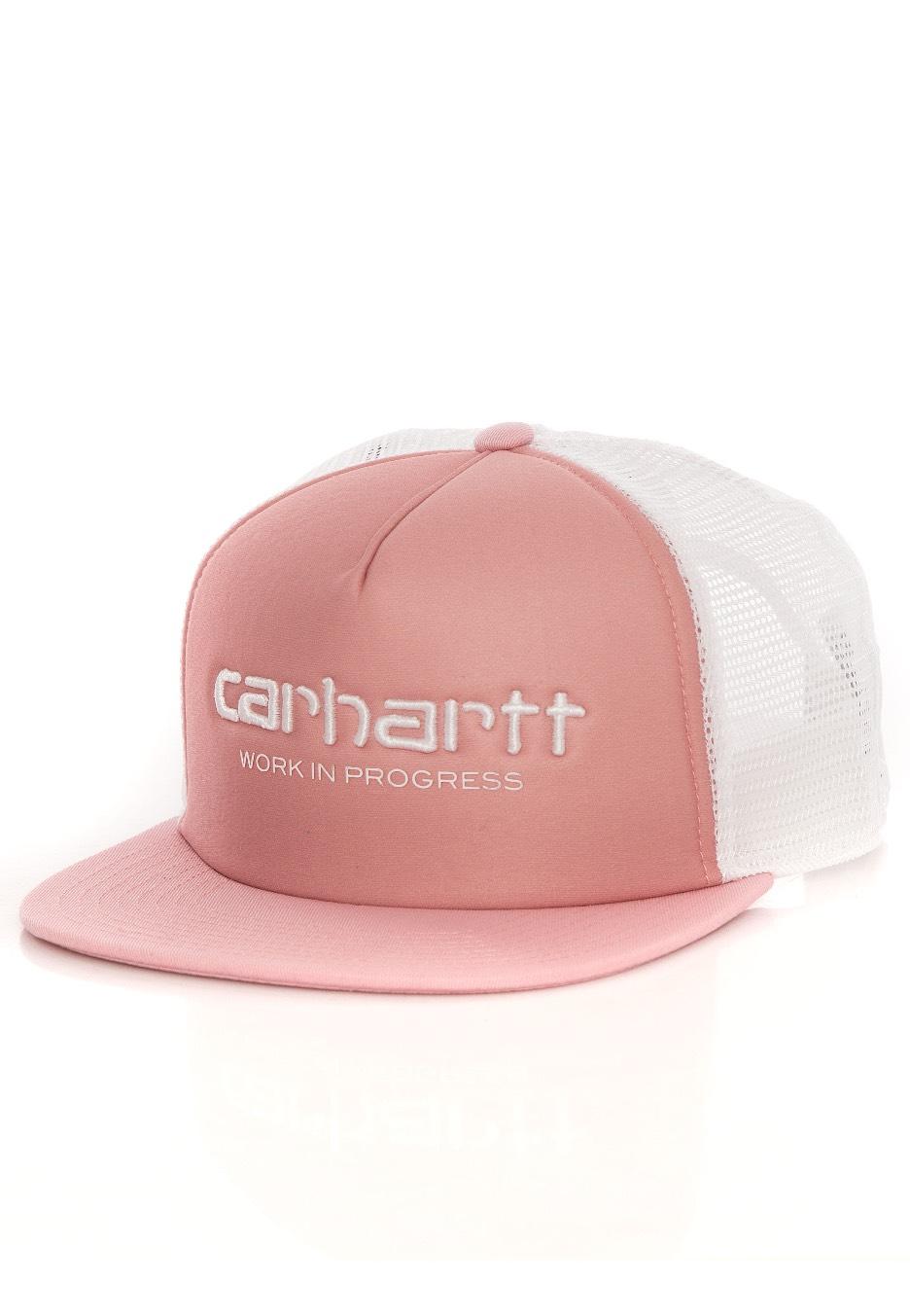 Carhartt WIP - Carhartt WIP Trucker Soft Rose/W...