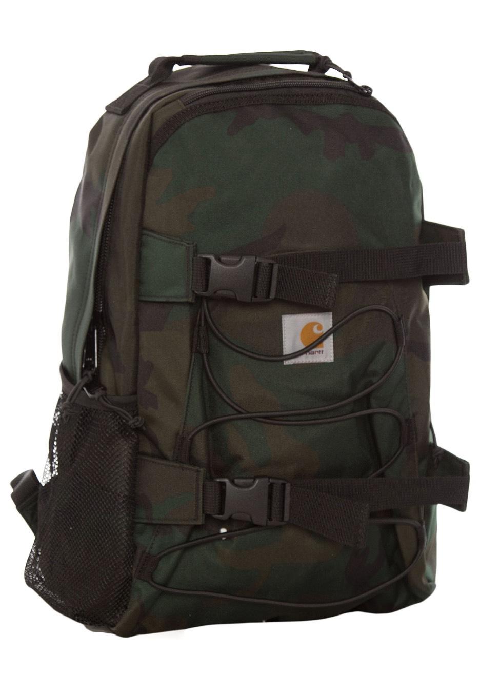 Carhartt WIP - Kickflip Camo Combat Green - Backpack - Streetwear Shop -  Impericon.com US