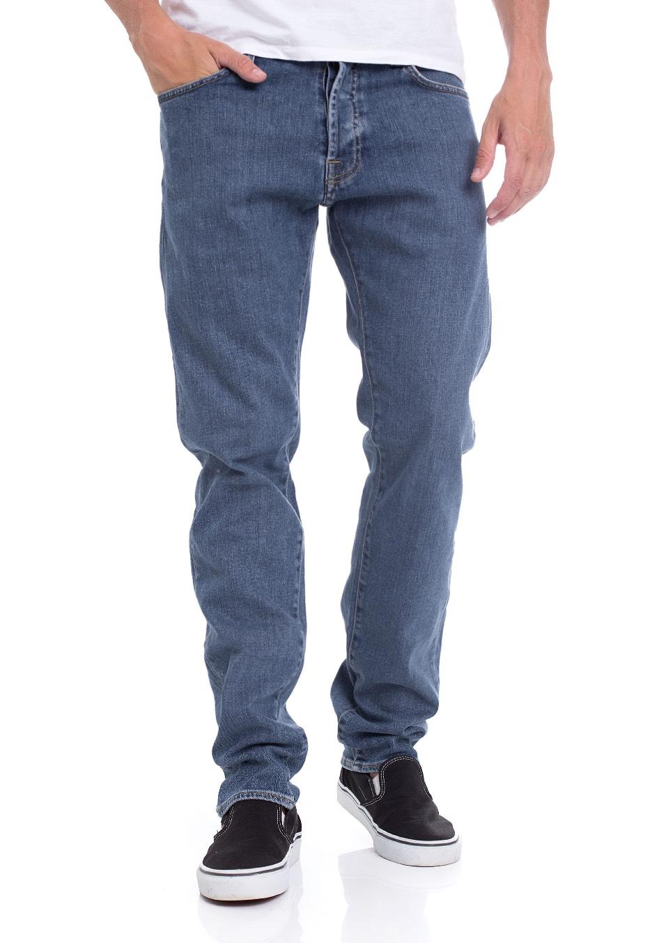 b16d3535 Carhartt WIP - Klondike Spicer Blue Stone Washed - Jeans - Streetwear Shop  - Impericon.com UK