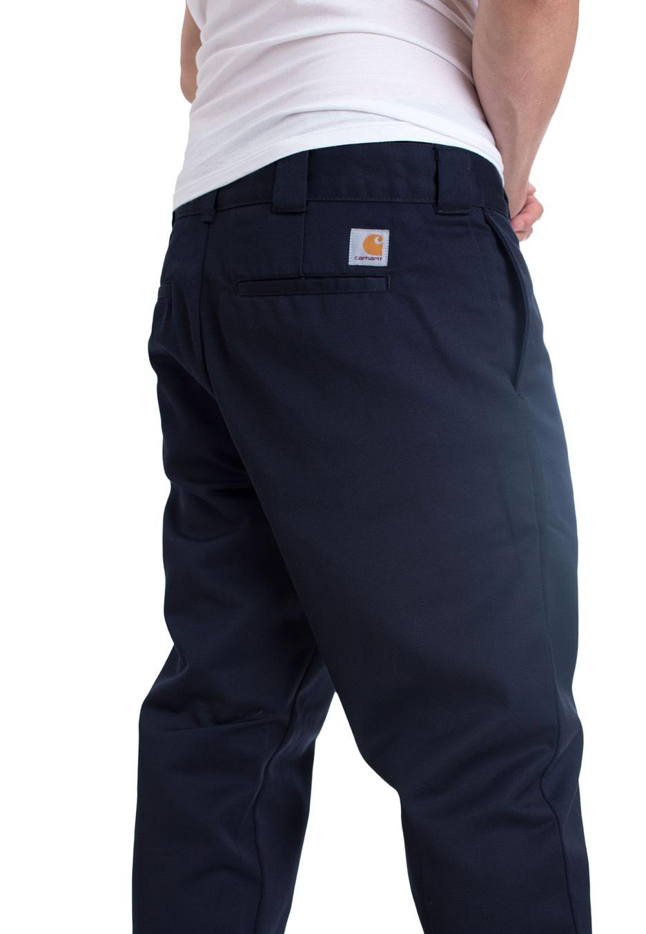 Master Twill Rinsed Carhartt Denison Navy Wip Pantalons Dark vq6n5w