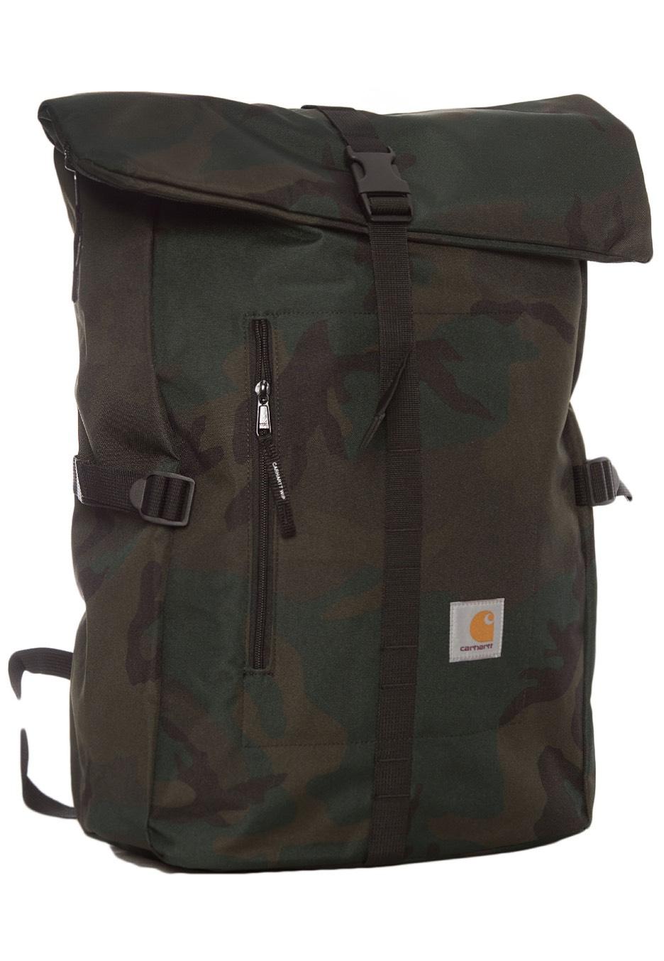 Carhartt WIP - Phil Camo Combat Green - Backpack - Streetwear Shop -  Impericon.com Worldwide
