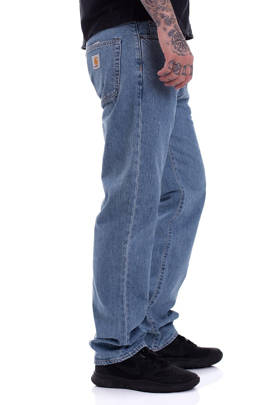 Blue Stone Wip Pontiac Bleached Carhartt Milton Jeans qUgBawzx