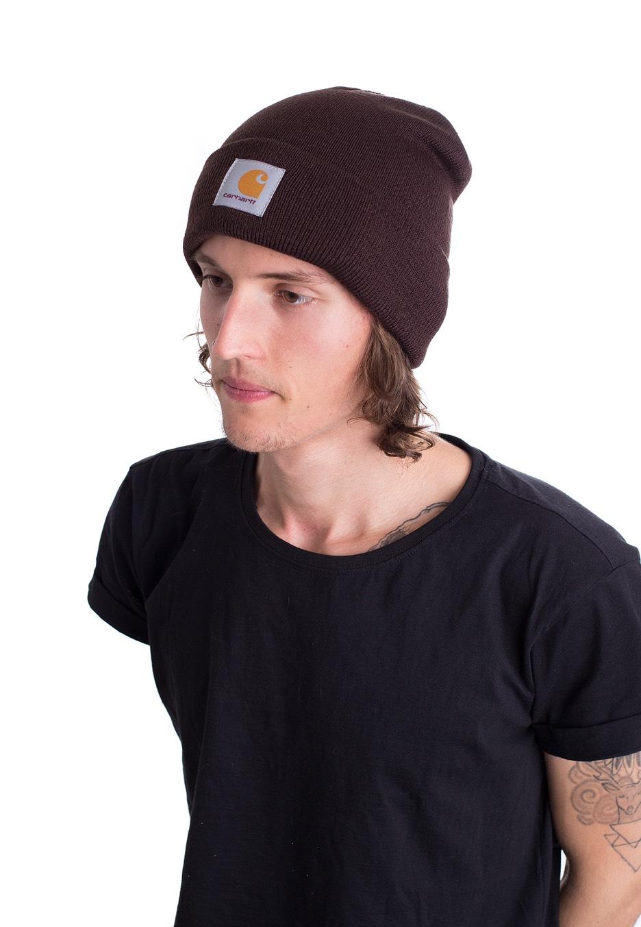 Carhartt WIP - Short Watch Tabacco - Beanie - Streetwear Shop ... d621c243ee5
