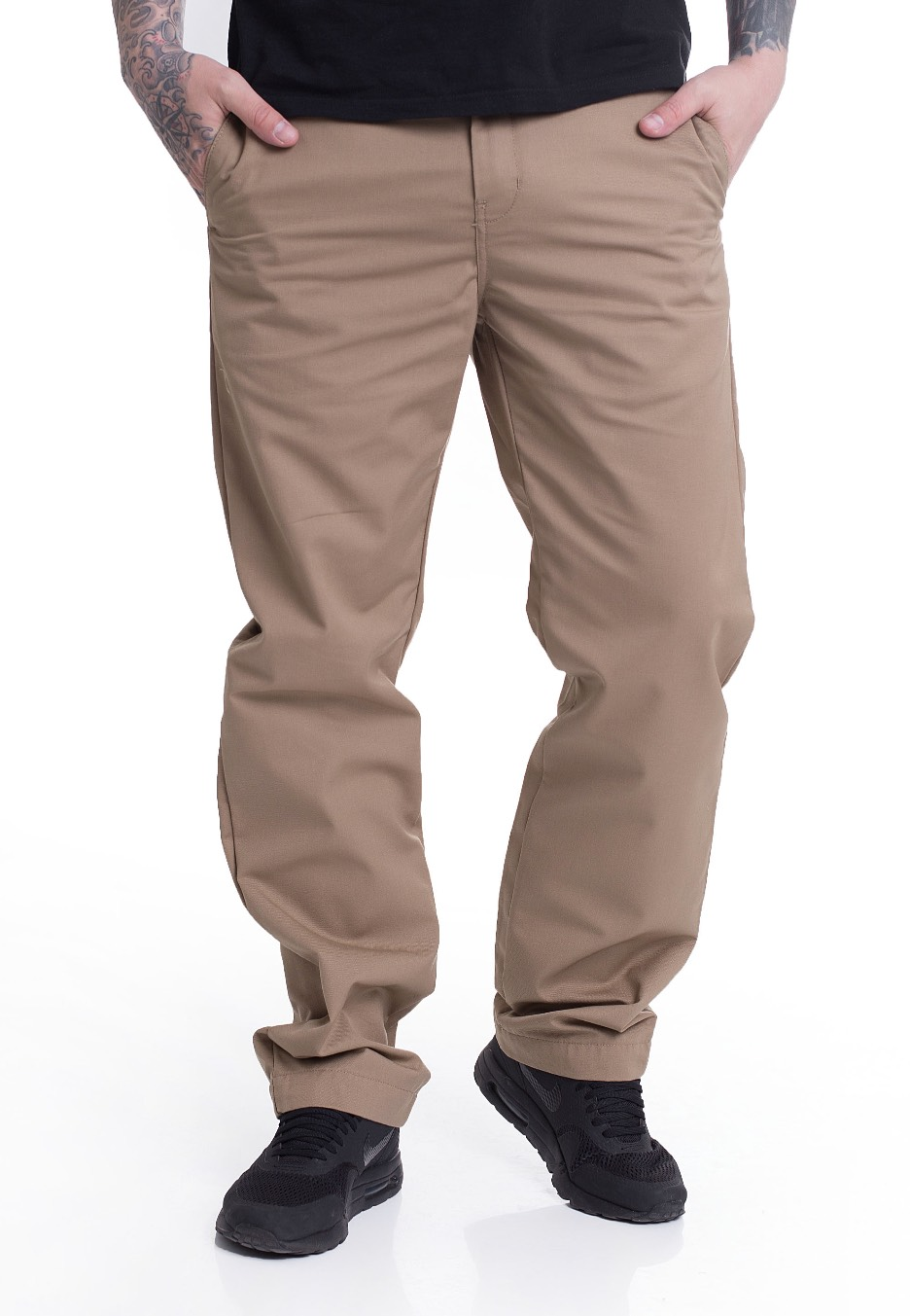 6c1f7ce25df Carhartt WIP - Station Dunmore Leather Rinsed - Pants