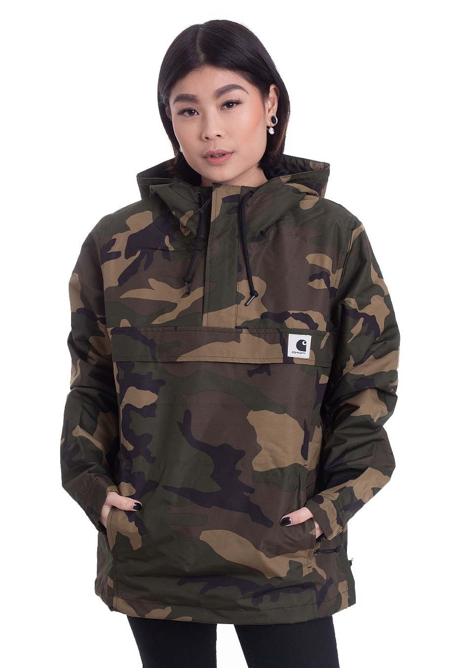 Jacken für Frauen - Carhartt WIP W' Nimbus Camo Laurel Summer Jacken  - Onlineshop IMPERICON