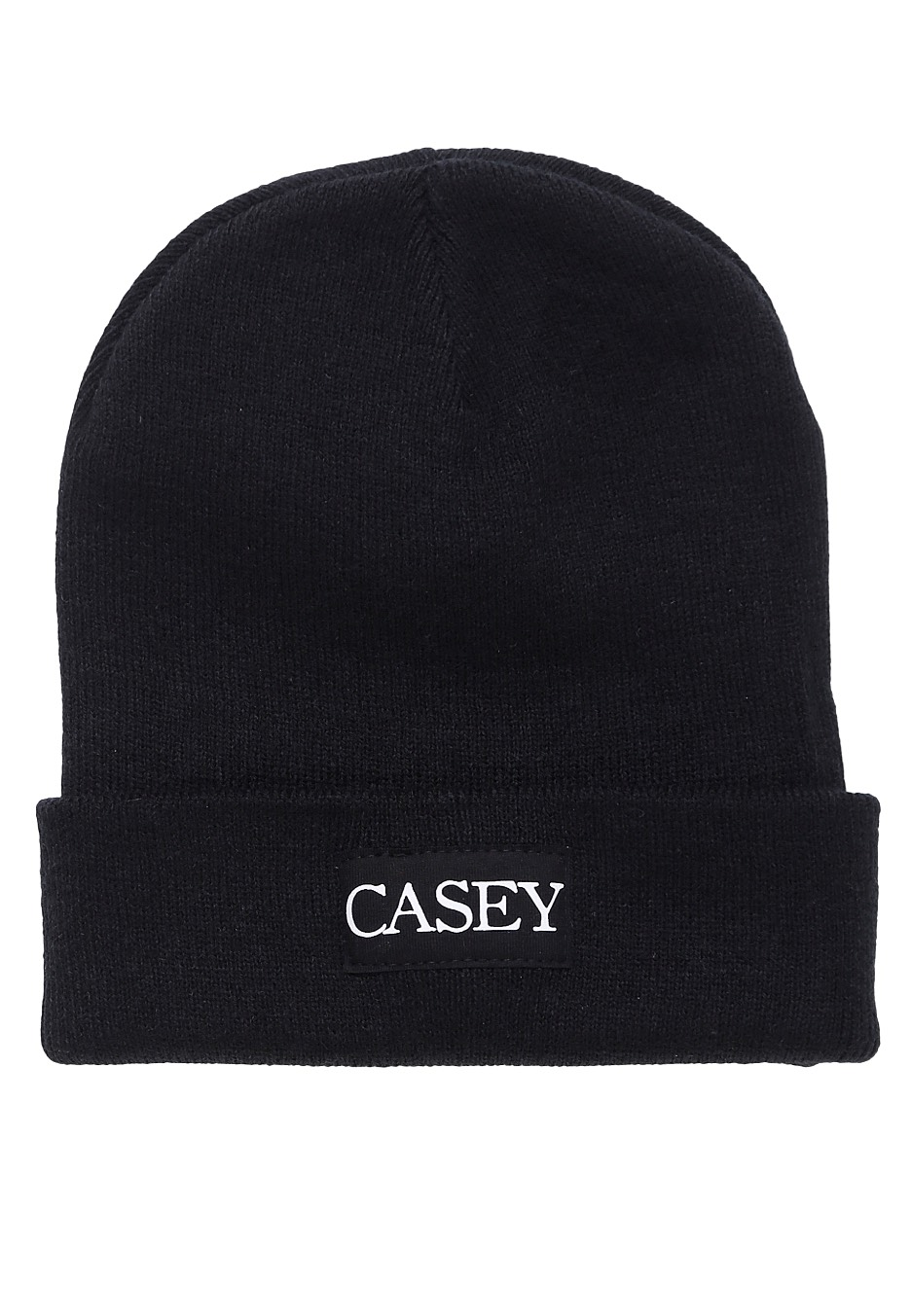 casey logo long beanie official emo merchandise shop