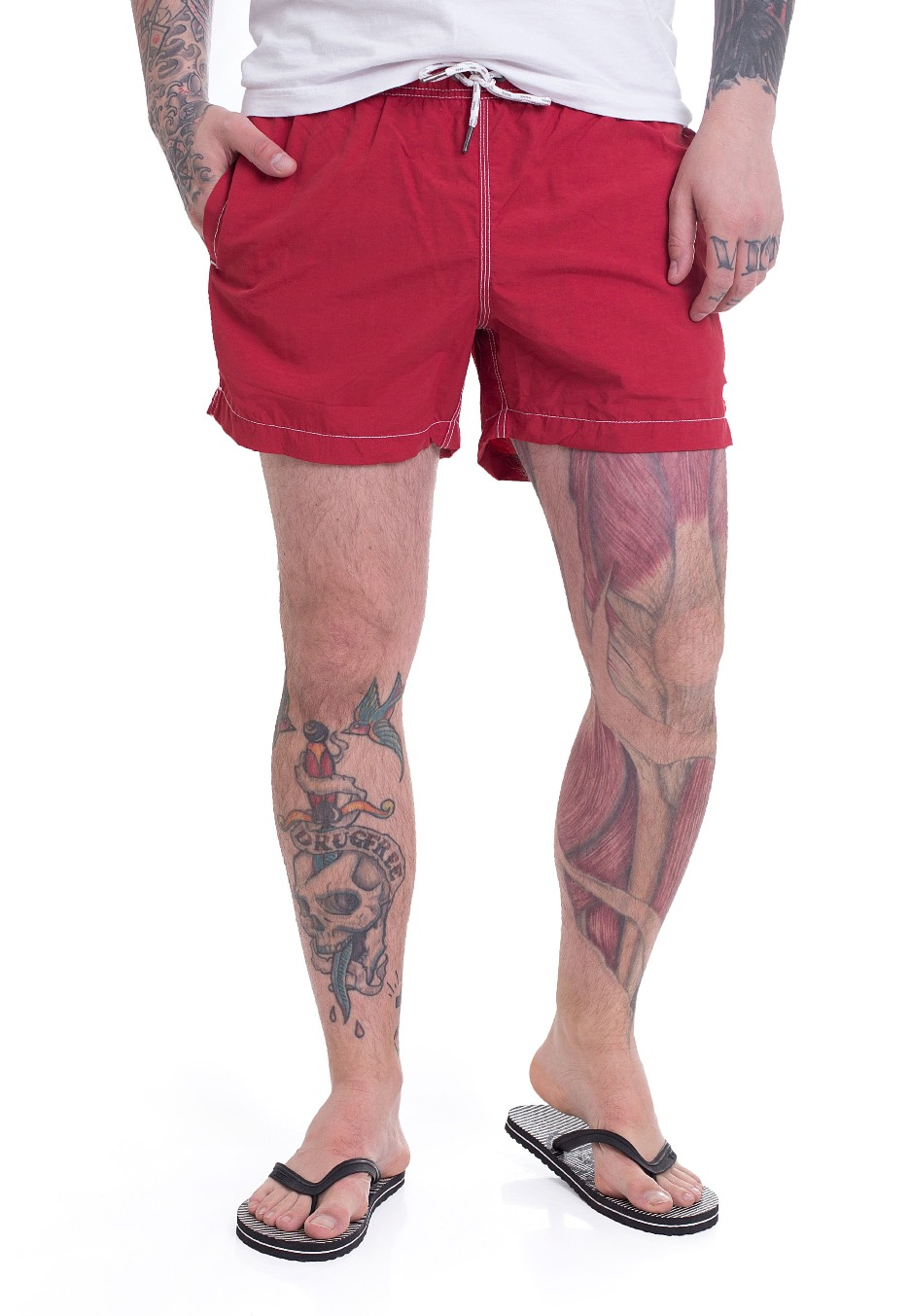 Champion - Beachshort Berry Red -