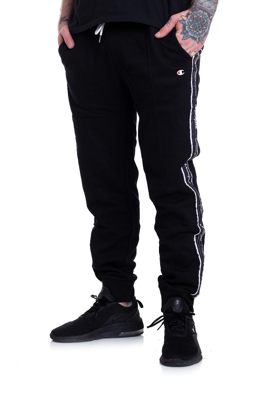 Champion Herren Pants Rib Cuff black