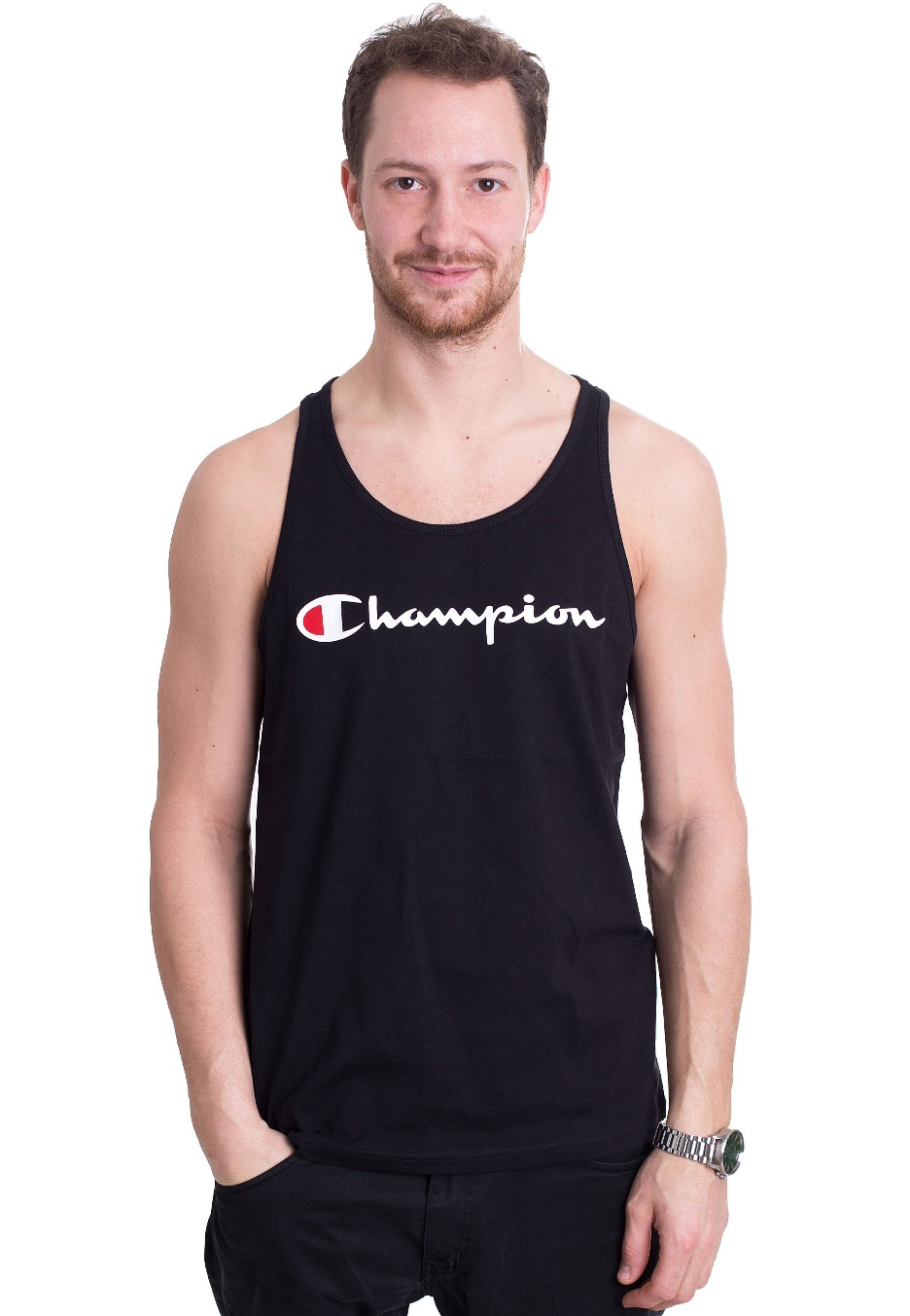 18b38161aba5 Champion - Tank Top New Black - Tank - Streetwear Shop - Impericon.com UK