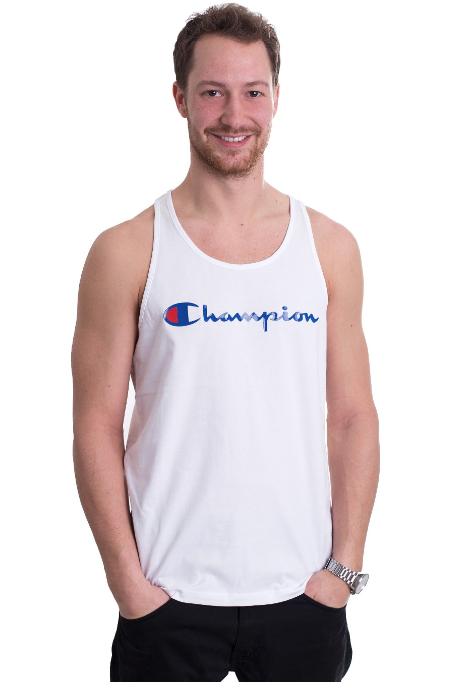 7267795bb736 Champion - Tank Top White - Tank - Streetwear Shop - Impericon.com UK