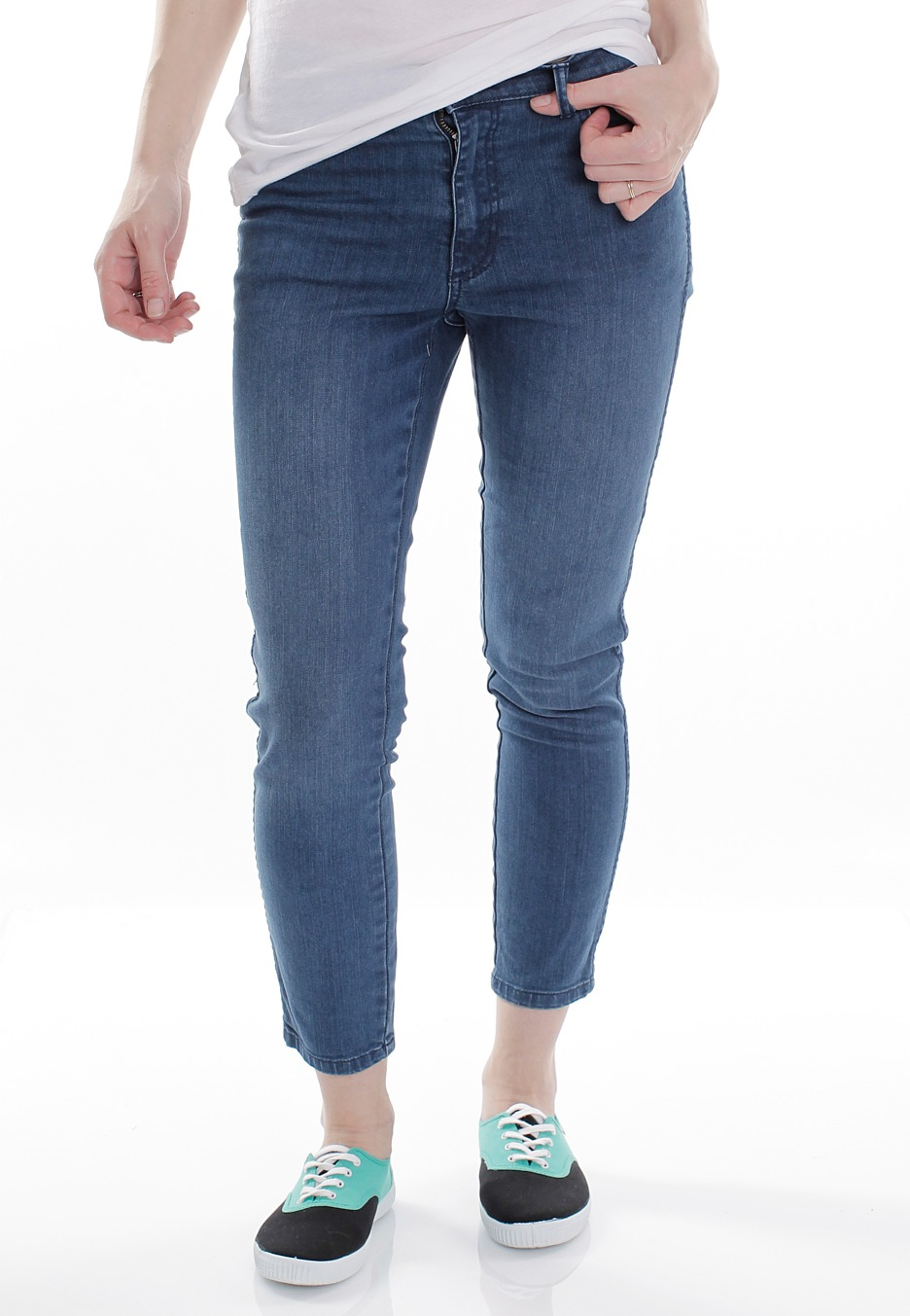 Cheap Monday - Ankle Stretch Happy Blue - Girl Jeans - Impericon ...