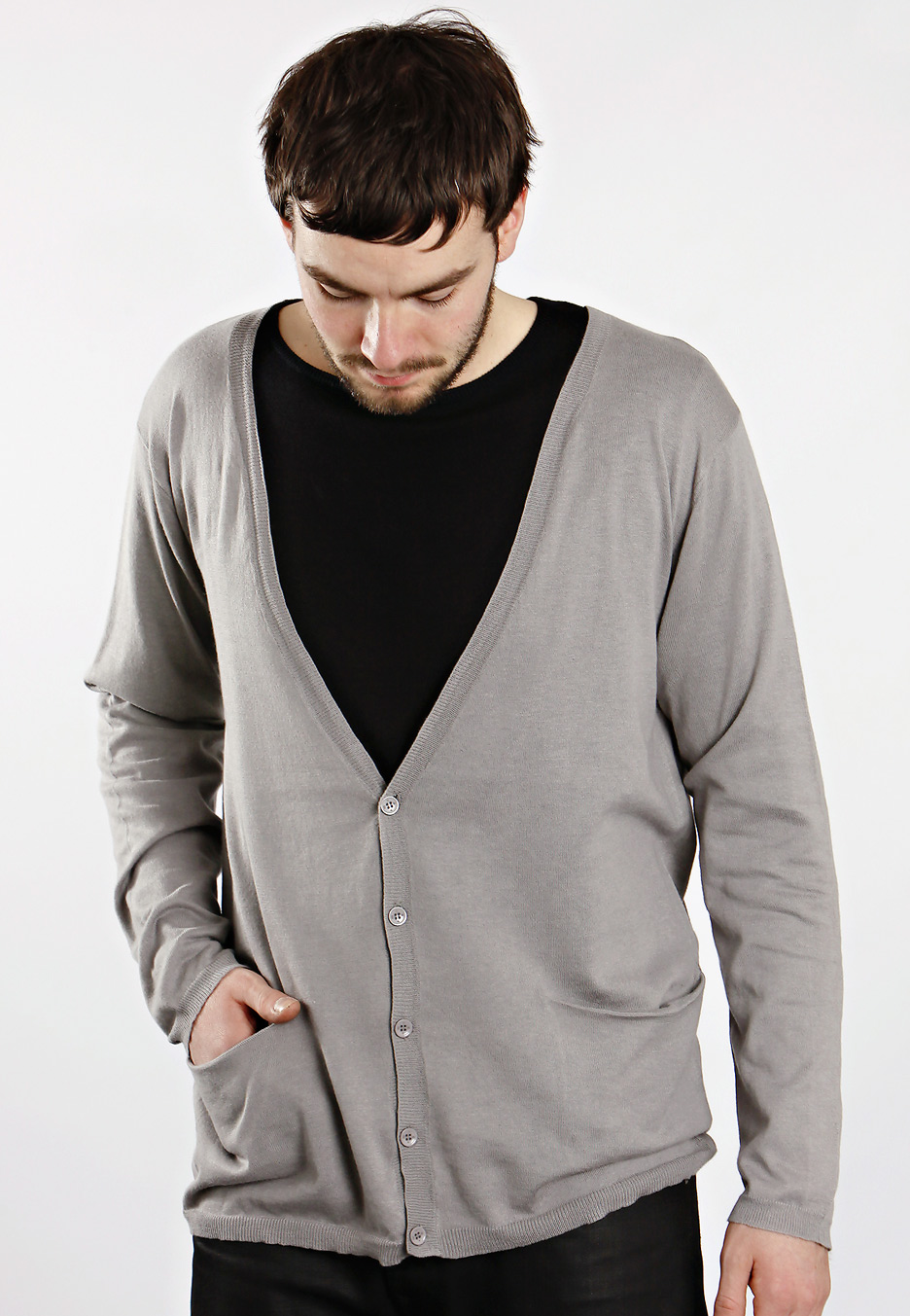 Cheap Monday - Juan Industrial Grey - Cardigan - Impericon.com ...