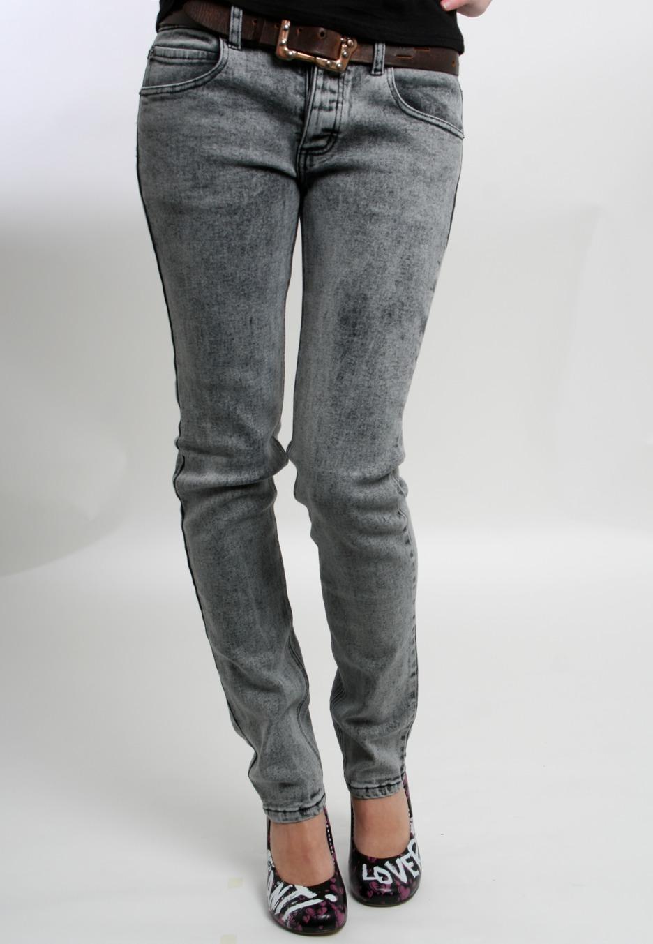 Cheap Monday - Narrow Used Black - Girl Jeans - Impericon.com UK