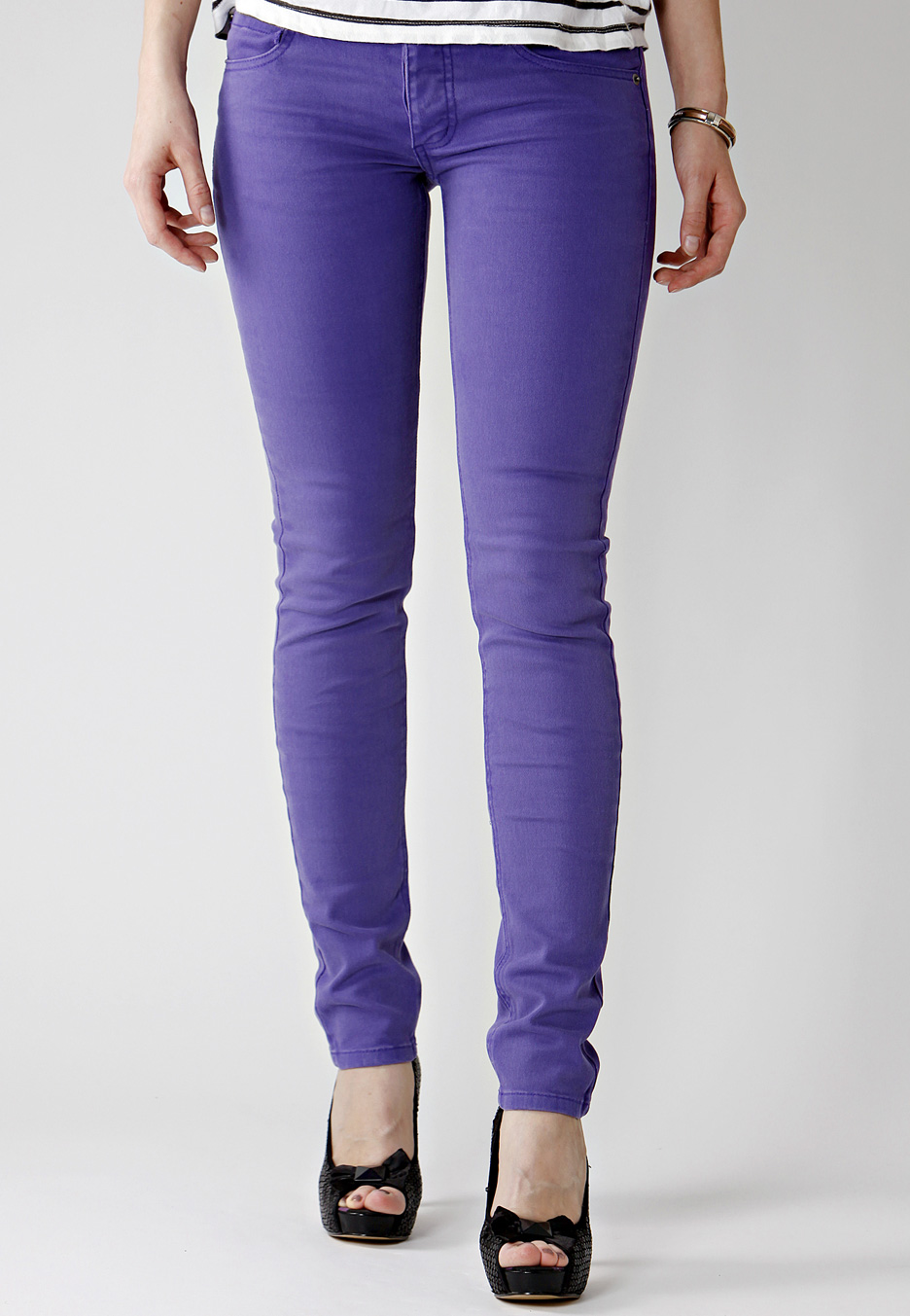 Cheap Monday - Narrow OD Lilac - Girl Jeans - Impericon.com Worldwide