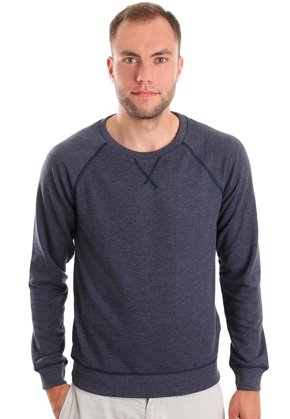 Cheap Monday - Neil Dark Blue Melange - Sweater - Impericon.com ...