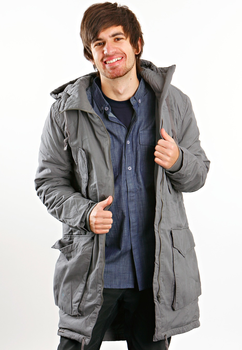 Cheap Monday - Noah Parka Dark Grey - Jacket - Impericon.com Worldwide